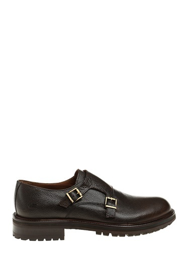 George Hogg %100 Deri Klasik Ayakkabı Kahve